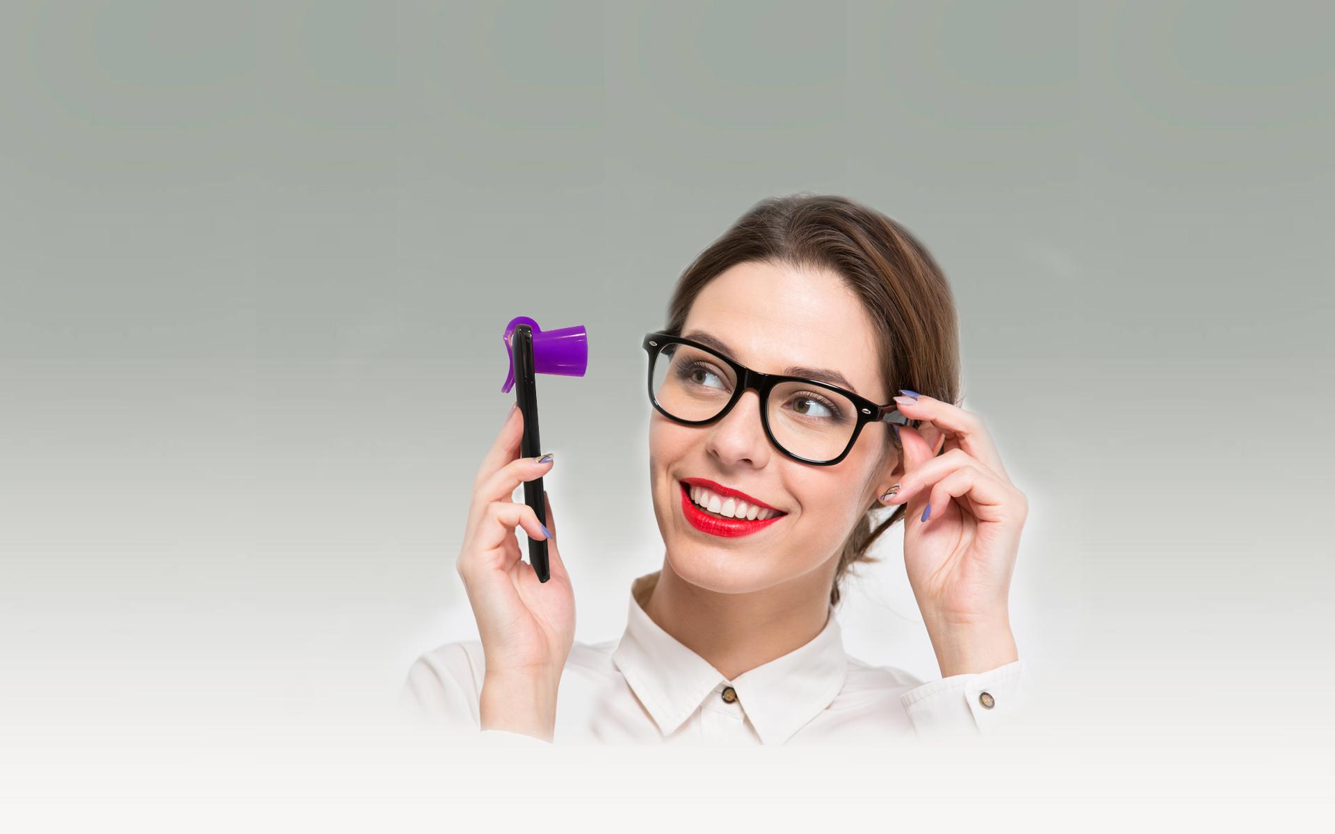 distanziofono-onde-elettromagnetiche-acessorio-per-cellulare-viola-donna-di-affari